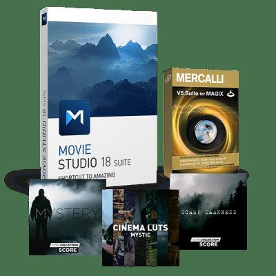 Mise à niveau: Movie Studio 18 Suite