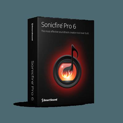 SmartSound® Sonicfire® Pro 6